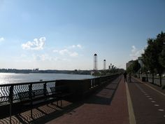 Water Front, Downtown Evansville Indiana.