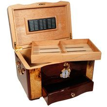 Best Humidor Price for the Best Cigar Humidors made of Elegant Rosewood with a virgin cedar lined interior and finished with Piano Lacquer at Cuban Crafters.