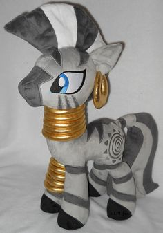 Zecora by MLPT-fan.deviantart.com on @deviantART (plush)
