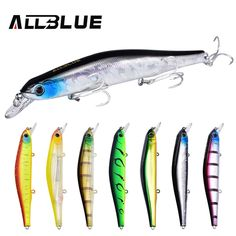 4.18$  Watch more here - ALLBLUE Best Quality Fishing Wobbler 17.5g/110mm Suspend Minnow Pike Bass Fishing Lures With 6# Owner Hook peche isca artificial   #buyonline