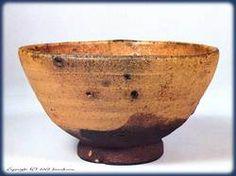 Karatsu ware / 奥高麗 茶碗 銘「深山路」