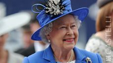 "2nd June - On this day: Diamond Jubilee celebrations commence when Elizabeth II attends the ""Investec Derby"", Epsom 2012 (Source: Castelli 2015 corporate diary/2015 diaries feature facts every day)"
