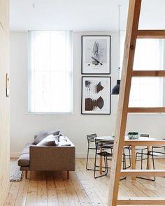 A Melbourne, un appartement en bois blond