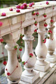 - inspiration guirlande de roses -