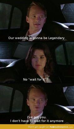 Barney and Robin!