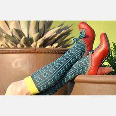 Fab.com | Inspired Kaleidoscopic Socks