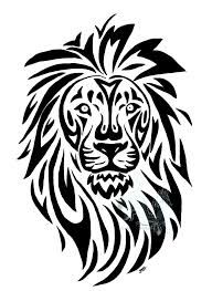 lion tattoo idea - I like this but maybe a little more girly instead of tribal