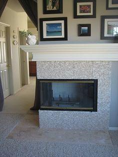 7 top fireplace makeovers images chimeneas casitas chimenea de rh pinterest es
