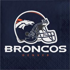 Nfl Denver Broncos Birthday Party Kit 96 Piece By Tnt