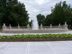 """Women's Leadership Fountain""  Location: East 9th Street & The Paseo, Kansas City, MO  Artist/Designer: George Kessler and John VanBrunt  Dates: 1899"