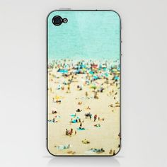 beach photo iphone case