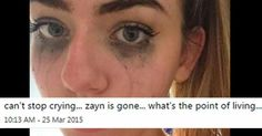 28 crazy over-the-top reactions to Zayn Malik leaving One Direction... These are hilarious!  Lol haha!!   – 28 pics