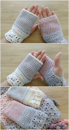 Crochet Fast And Easy Mittens All Free Crochet, Crochet Cross, Easy Crochet Patterns, Craft Patterns, Crochet Yarn, Crochet Ideas, Crochet Projects, Knitting Patterns, Crochet Slipper Pattern