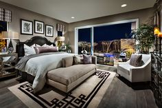 Toll Brothers - The Brisbane Master Bedroom