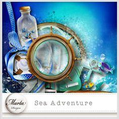 Sea Adventure :: ALL NEW :: Memory Scraps