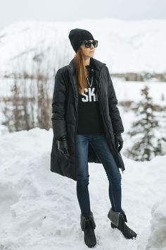 Definitely had to stay warm out here in Idaho. Read up on some of my cozy finds at Couldihavethat.com.