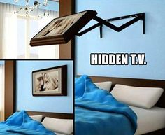 I want this tv mount - hide it & enjoy watching it