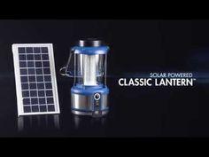 Wagan Tech - Solar Powered Classic LED Lantern (#8533) - YouTube