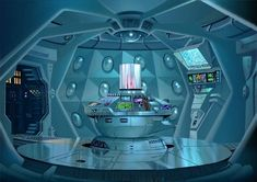 Doctor Who Tardis interior concept art Doctor Who Tardis, Die Tardis, Doctor Who Art, Tenth Doctor, Tardis Art, Dalek, Blue Box, Time Lords, Dr Who