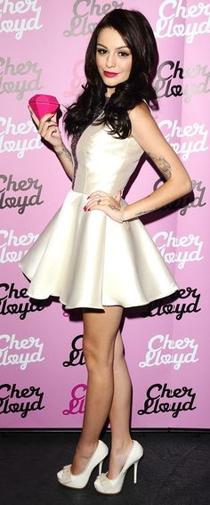 Cher Lloyd is just like the other side of Ariana Grande <3 love her!