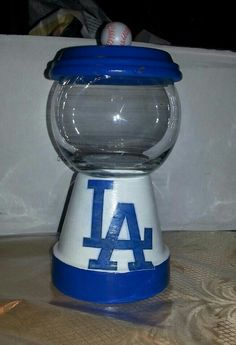 Los Angeles Dodgers candy dish