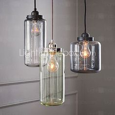Bulb Included Pendant Lights , Traditional/Classic / Vintage Living Room / Dining Room - USD $ 116.99