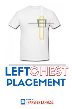 Sizing Chart With Common Left Chest Heart And Pocket