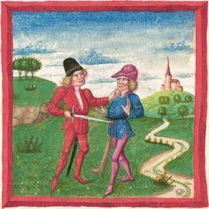 Deutsche Bibel AT, Bd. 1 (Gen. - Reg., Psalter) Furtmeyr, Berthold: Buchmalerei der Renaissance BSB Cgm 502, Regensburg,  um 1463  Folio 149