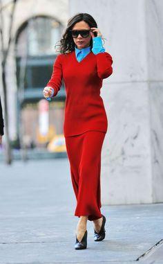 Two Stars Stylish War- Selena Gomez & Victoria Beckham Wear The Same Dress - Live Wear Stylish