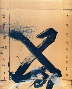 Immagine di http://www.kingsacademy.com/mhodges/11_Western-Art/26_20th-Century-Experimentalism/Tapies_1988_Grand-X_PLZ-183.jpg.