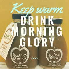 """Our most favourite drink """"morning glory"""" will help you passing through this wet winter. Check it out at @juicestationau #londoncourtperth #green #ginger #nosugar"""