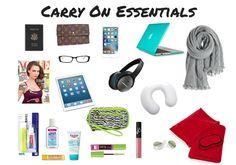 long flight carry on bag essentials list
