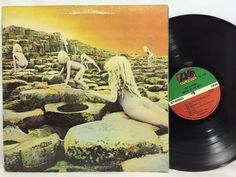 Led Zeppelin - Houses of the Holy SD 7255 Atlantic Label LP Vinyl Record