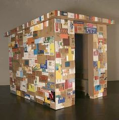 Joan Backes - Cardboard House