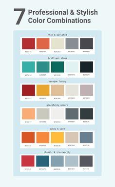 How to Pick Colors to Captivate Readers and Communicate Effectively - Venngage - Pincus Turfes Flat Color Palette, Colour Pallete, Colour Schemes, Color Combos, Pantone Colour Palettes, Pantone Color, Color Harmony, Color Psychology, Colours