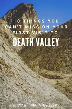 There are so many things to do in Death Valley National Park, but if this is your first road trip to the park it can be a little overwhelming. Don't worry, this list includes all the things you can't miss while on your vacation, plus a bunch of information to help you make your way around the park. Whether or not you like hiking and camping this list will make it easy to have a fun adventure. Fun Adventure, Greatest Adventure, Death Valley National Park, California National Parks, Best Hikes, Amazing Adventures, Family Camping, Dream Vacations, Monuments