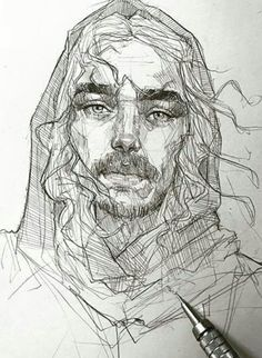 Efraín Malo is a Spanish sketch artist. In his works he makes pencil sketch and gives life to drawings. Portrait Sketches, Pencil Portrait, Portrait Art, Pencil Art Drawings, Art Drawings Sketches, Pencil Sketching, Horse Drawings, Realistic Drawings, Drawing Faces
