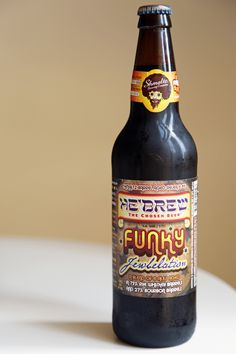 With a name like He'brew Funky Jewbelation ($13 for 22 ounces) and a whopping 9.8-percent ABV to boot, we're not sure what has us giggling more about this robustly flavored beverage. Either way, you're going to want to have it at your Hanukkah table this year.