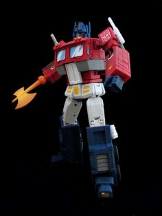 Masterpiece Optimus Prime - Cartoon Style | Flickr - Photo Sharing!