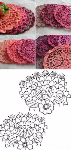 With free written pattern you can easily crochet Sunmote coasters and make you home interior more attractive and comfortable Bag Crochet, Crochet Dollies, Crochet Diy, Thread Crochet, Crochet Gifts, Crochet Flowers, Crochet Stitches, Lace Knitting, Crochet Circles