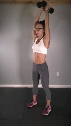 Fitness Workouts, Gym Workout Videos, Gewichtsverlust Motivation, Fitness Workout For Women, Fitness Diet, At Home Workouts, Workout Plans, Barbell Workout For Women, Food Workout