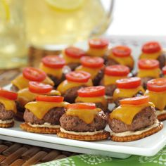 Cheeseburgers are always a fan-favorite! Spice them up with these chipotle cheeseburger sliders.