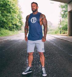 mens Gyms Stringers tank top vest bodybuilding clothing and fitness – myshoponline.com