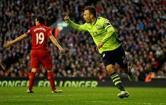 Andreas Weimann -- second Aston Villa goal against Liverpool