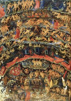Bartolomeo di Fruosino, naar een fresco in de kapel Strozzi van Santa MNaria Novella te Florence