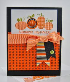 Laura's Works of Heart: HALLOWEEN HAPPINESS CARD: