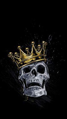 Skull King IPhone Wallpaper - IPhone Wallpapers