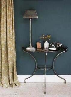 rooms in inchyra blue Hallway Colour Schemes, Bathroom Color Schemes, Bathroom Colours, Kitchen Colour Schemes, New Living Room, Living Room Decor, Dining Room, Living Area, Farrow And Ball Inchyra Blue