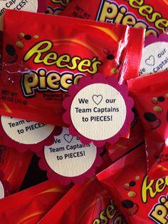Relay Team Captain thank you's