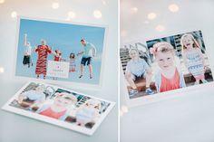 Custom Holiday & Christmas Photo Card Templates for Photoshop. #designaglow